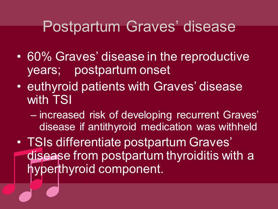 Postpartum Graves' disease