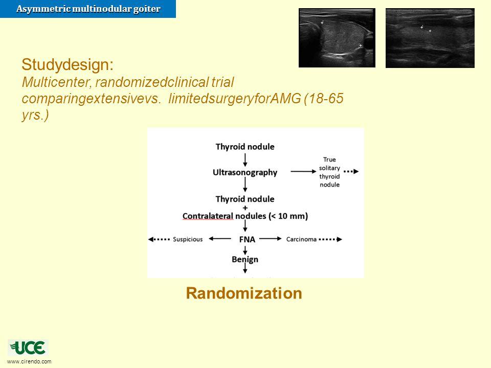 Studydesign: Randomization