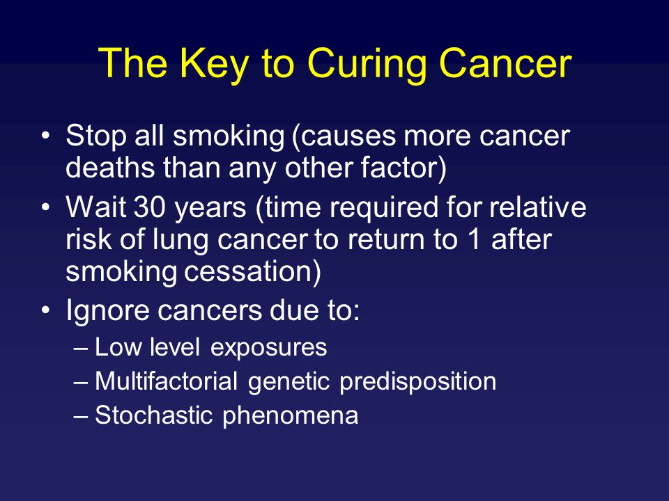 The Key to Curing Cancer