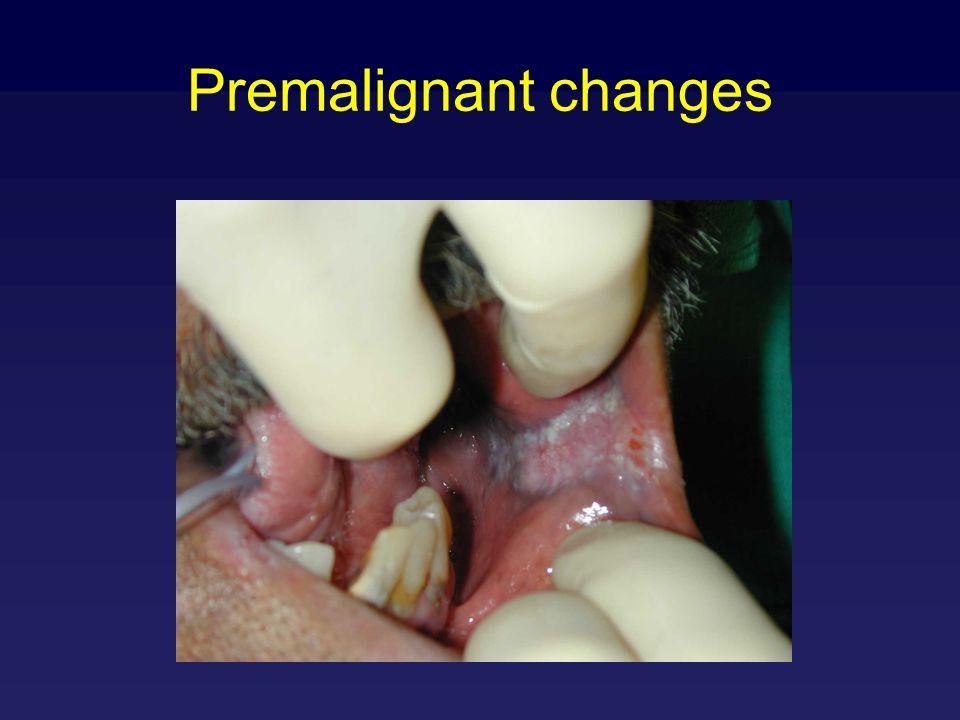 Premalignant changes