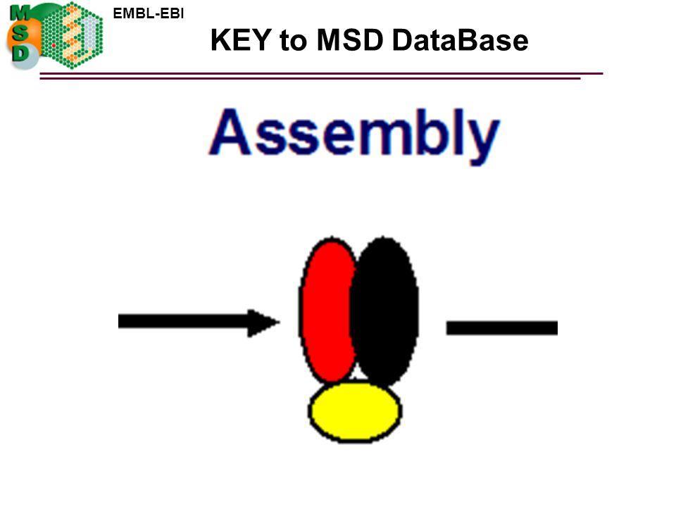 KEY to MSD DataBase