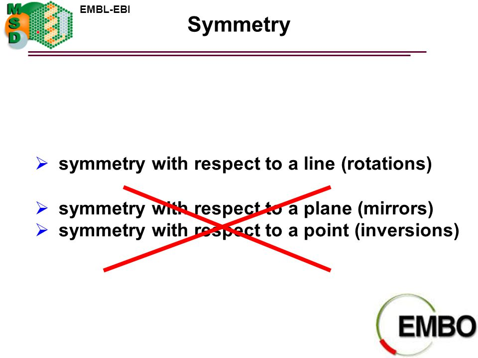 Symmetry symmetry with respect to a line (rotations)