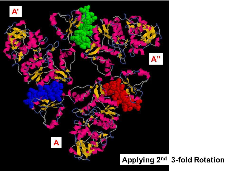 A' A A Applying 2nd 3-fold Rotation