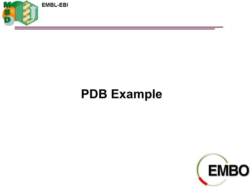 PDB Example