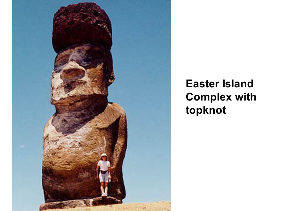 Easter Island Complex with topknot