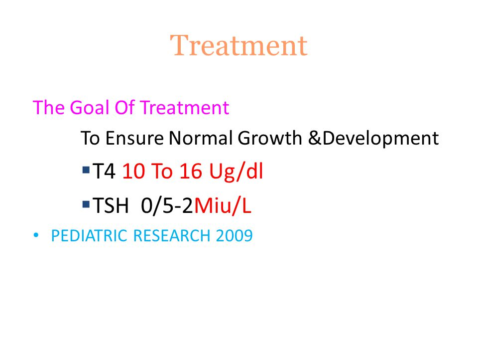 To Ensure Normal Growth &Development