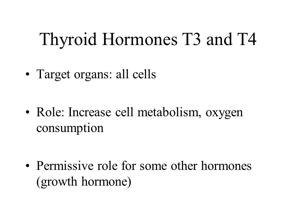 Thyroid Hormones T3 and T4