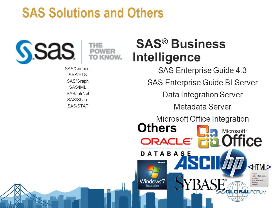 SAS Solutions and Others