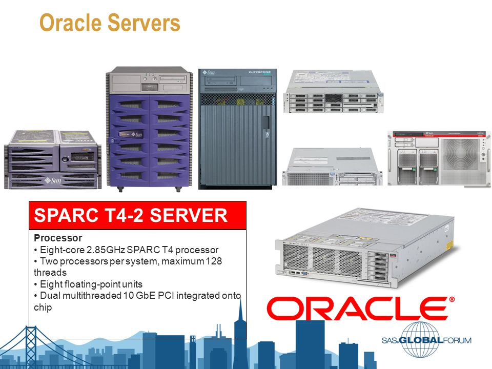 Oracle Servers SPARC T4-2 SERVER Processor