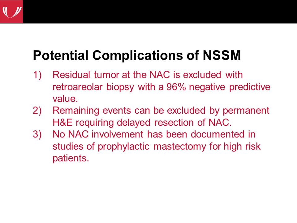 Potential Complications of NSSM