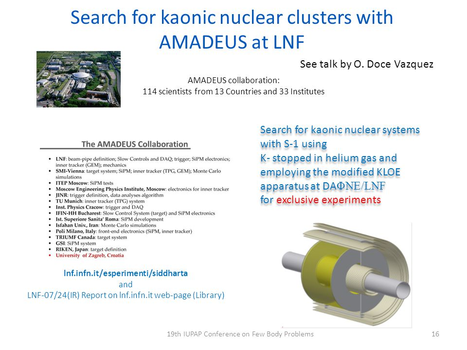 Search for kaonic nuclear clusters with AMADEUS at LNF