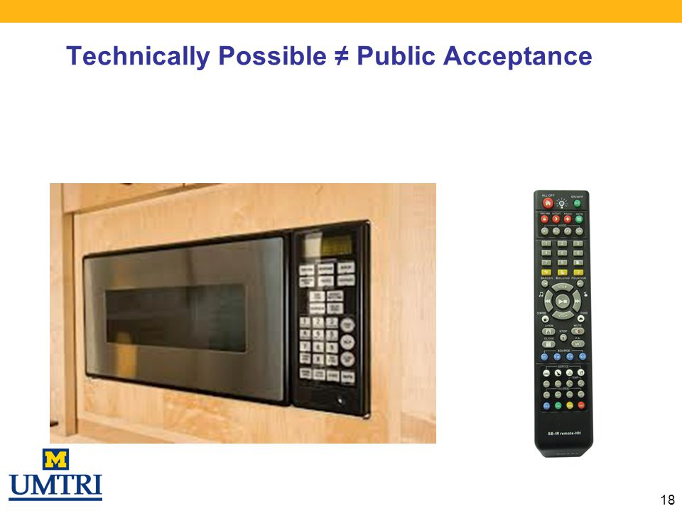 Technically Possible ≠ Public Acceptance