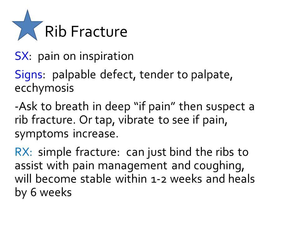 Rib Fracture