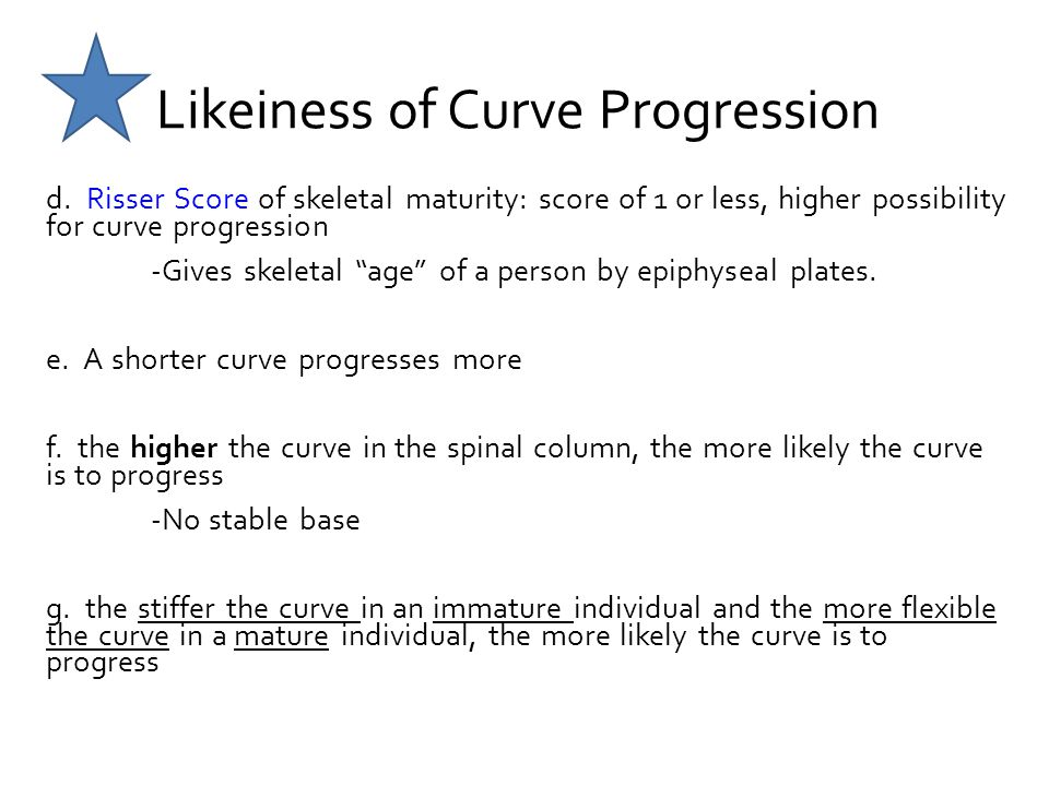 Likeiness of Curve Progression