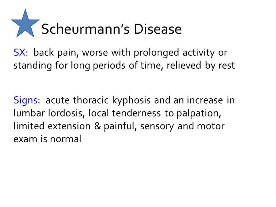 Scheurmann's Disease