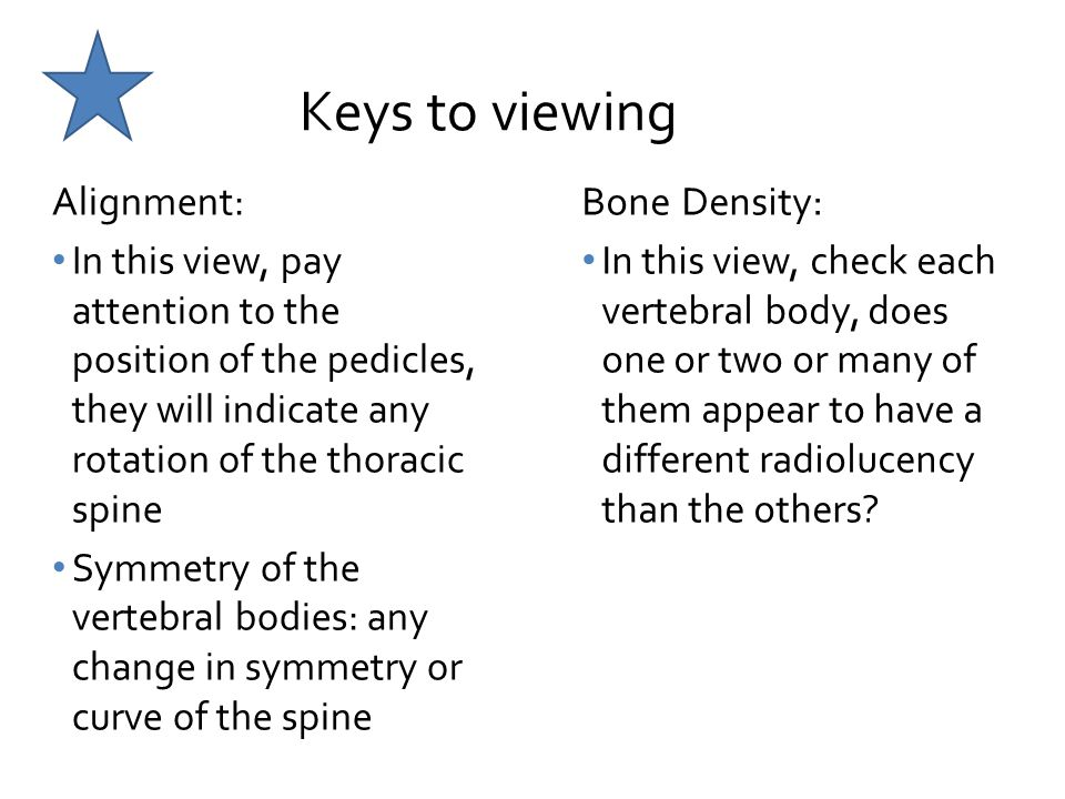 Keys to viewing Alignment: