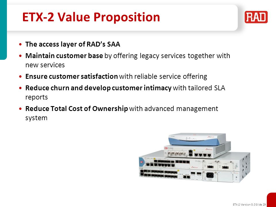 ETX-2 Value Proposition
