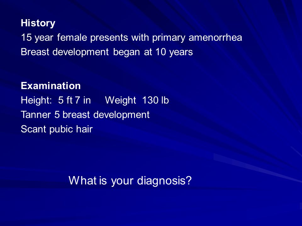 What is your diagnosis History
