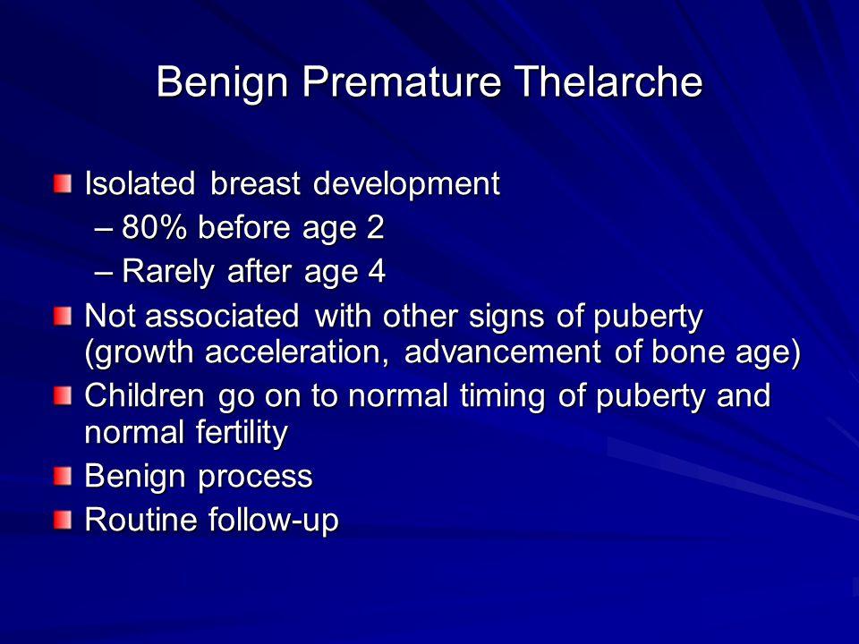 Benign Premature Thelarche