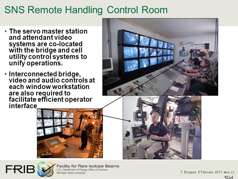 SNS Remote Handling Control Room