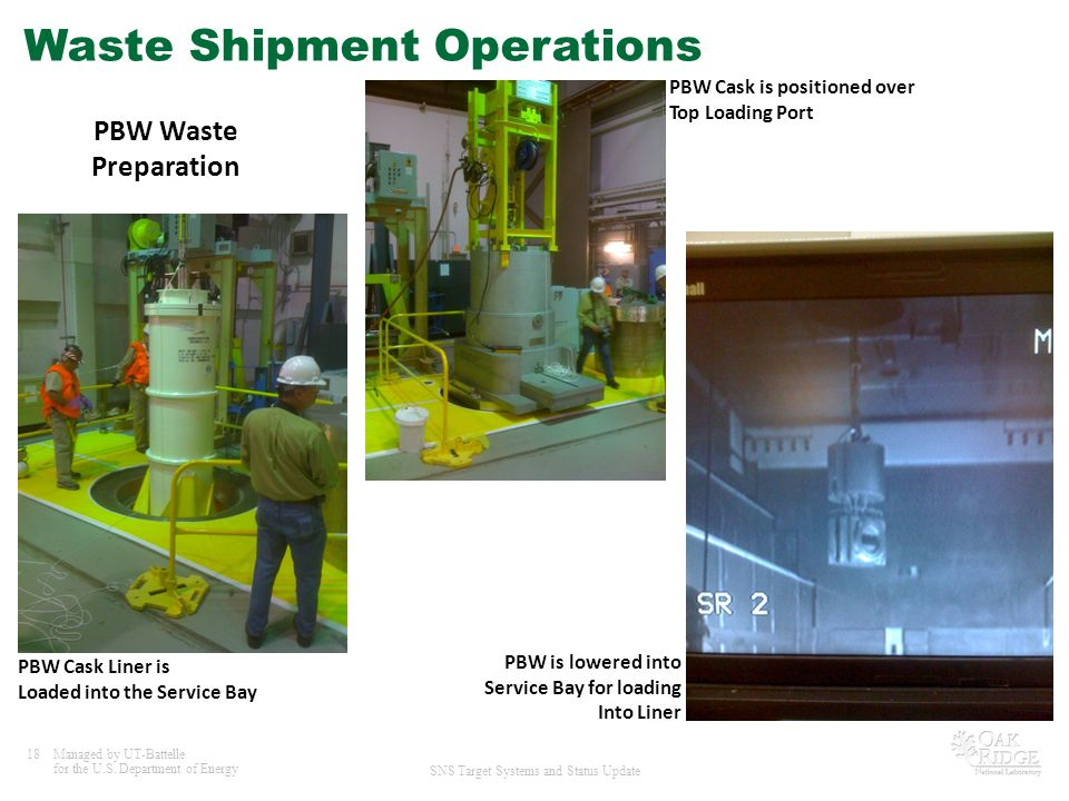 Waste Shipment Operations