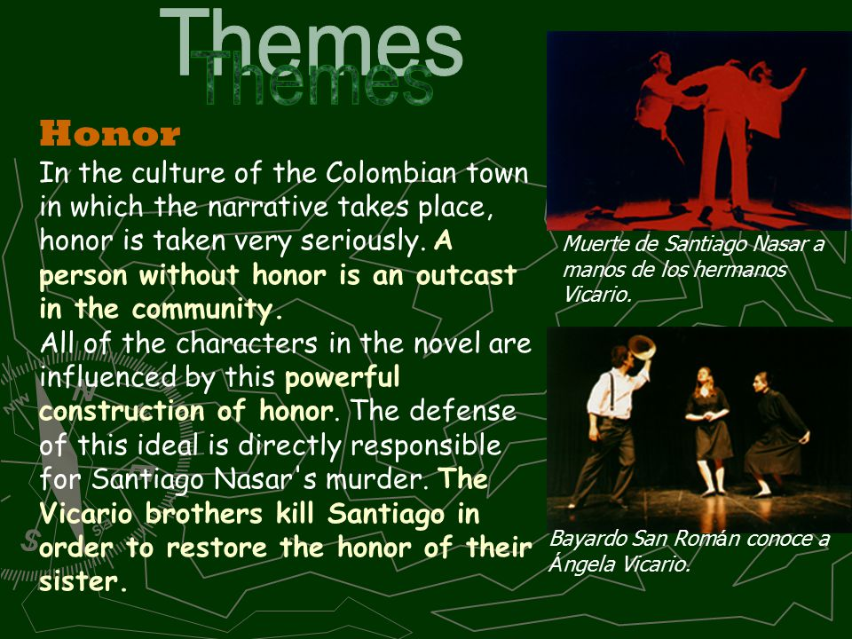 """santiago nasar innocence Allusions are made to santiago 's """"innocence""""  """"but argenida lanao  said that santiago nasar walked with his usual good  and chapter 5 is no exception ."""