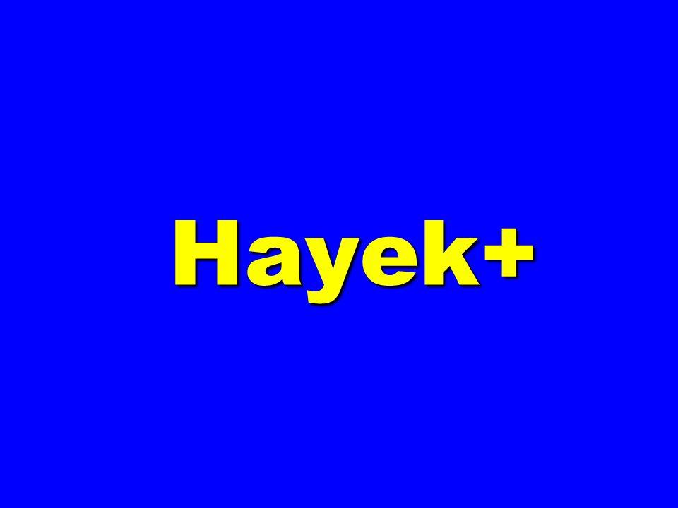 Hayek+