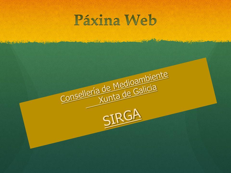 Consellería de Medioambiente Xunta de Galicia
