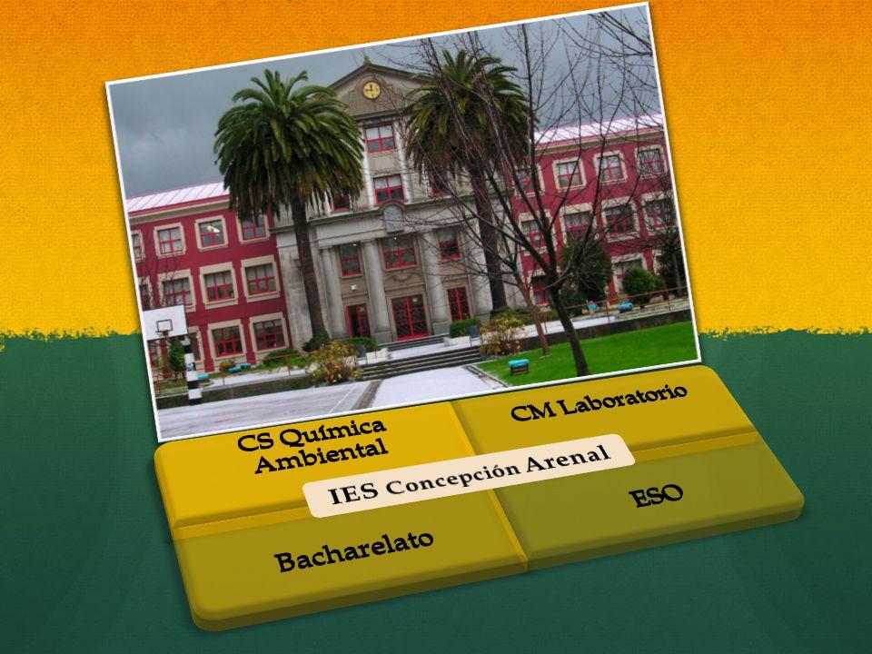 IES Concepción Arenal CS Química Ambiental CM Laboratorio Bacharelato ESO