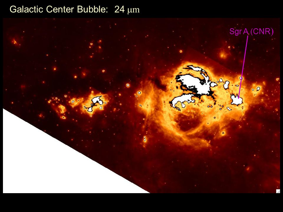 Galactic Center Bubble: 24 m