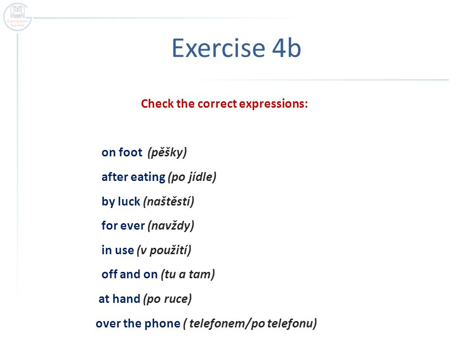 Exercise 4b