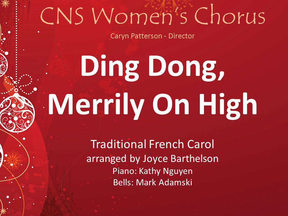 CNS Women's Chorus Caryn Patterson - Director