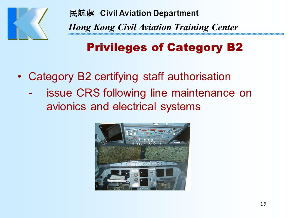 Privileges of Category B2