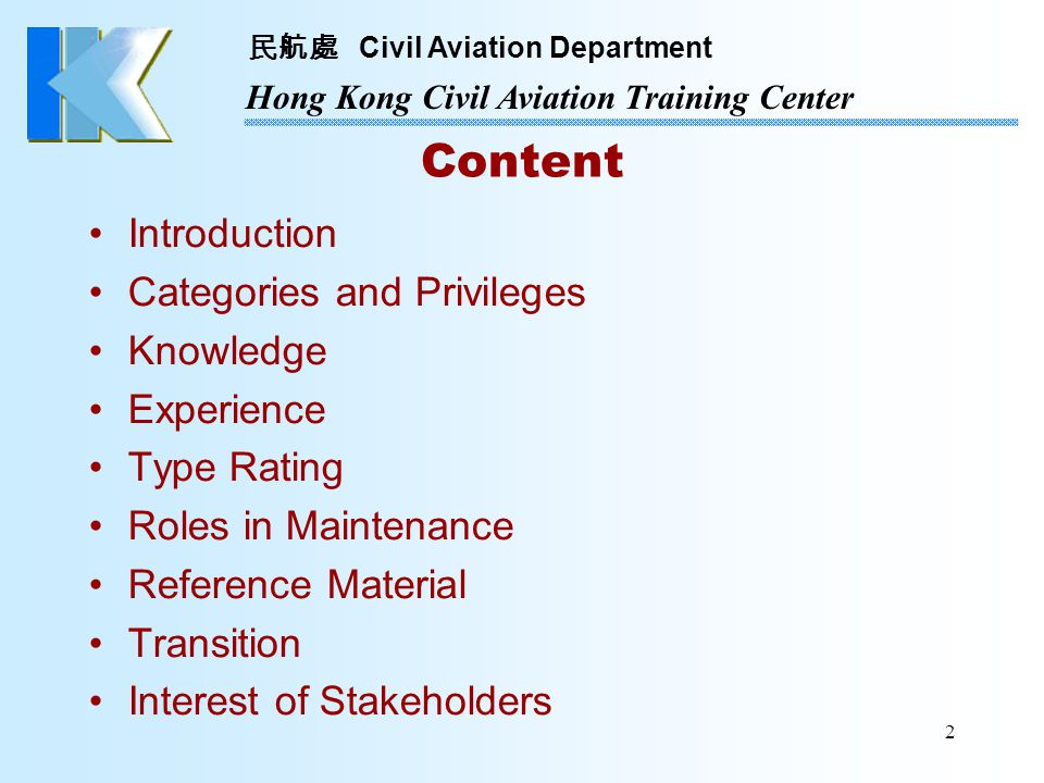 Content Introduction Categories and Privileges Knowledge Experience