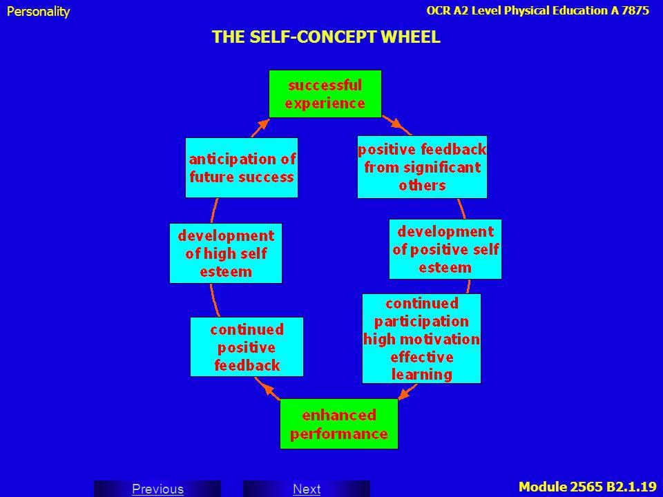 THE SELF-CONCEPT WHEEL
