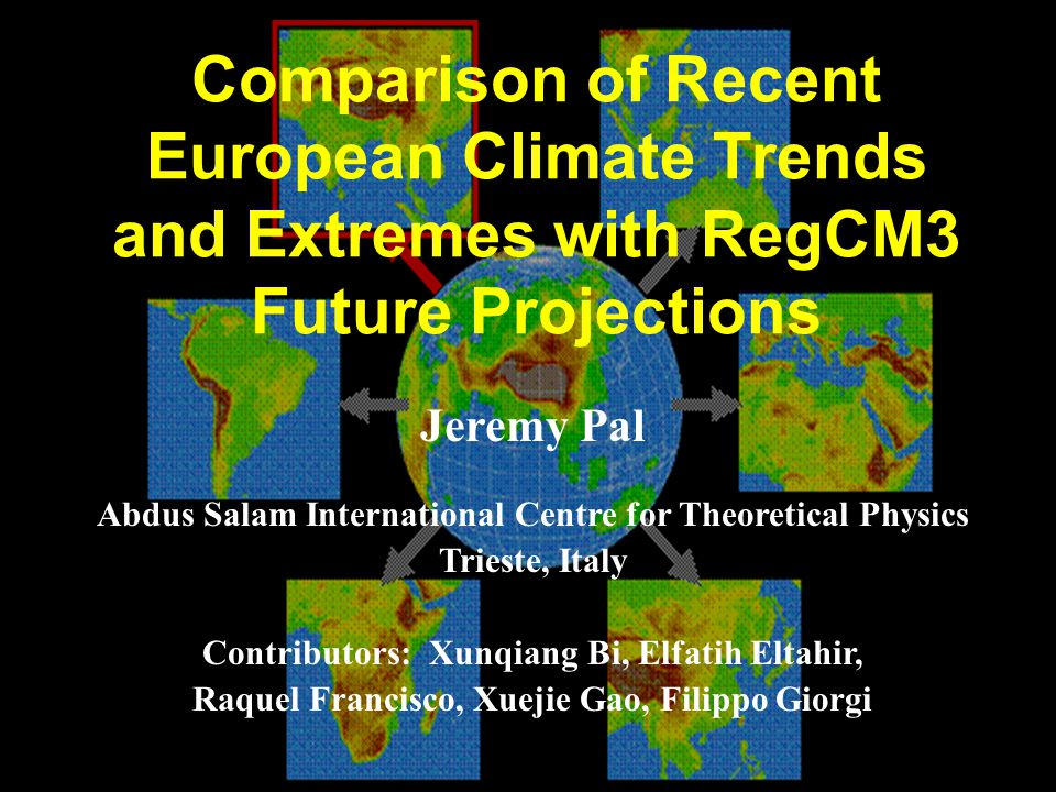 Comparison of Recent European Climate Trends and Extremes with RegCM3 Future Projections
