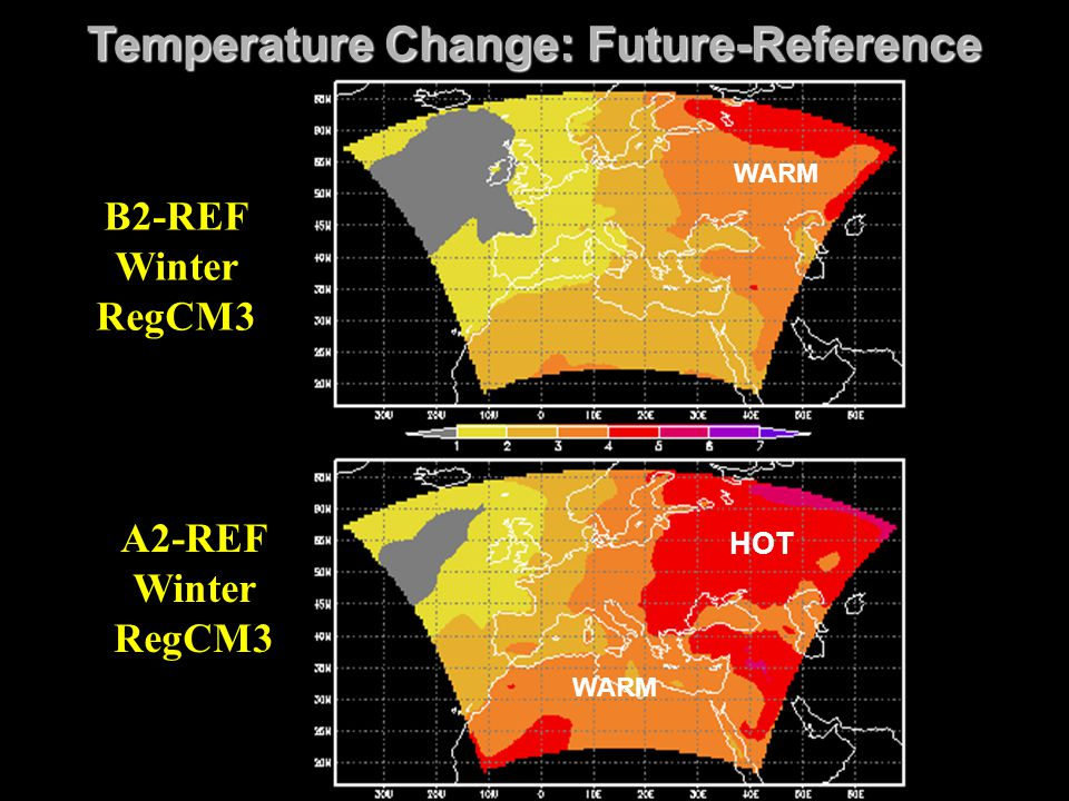 Temperature Change: Future-Reference