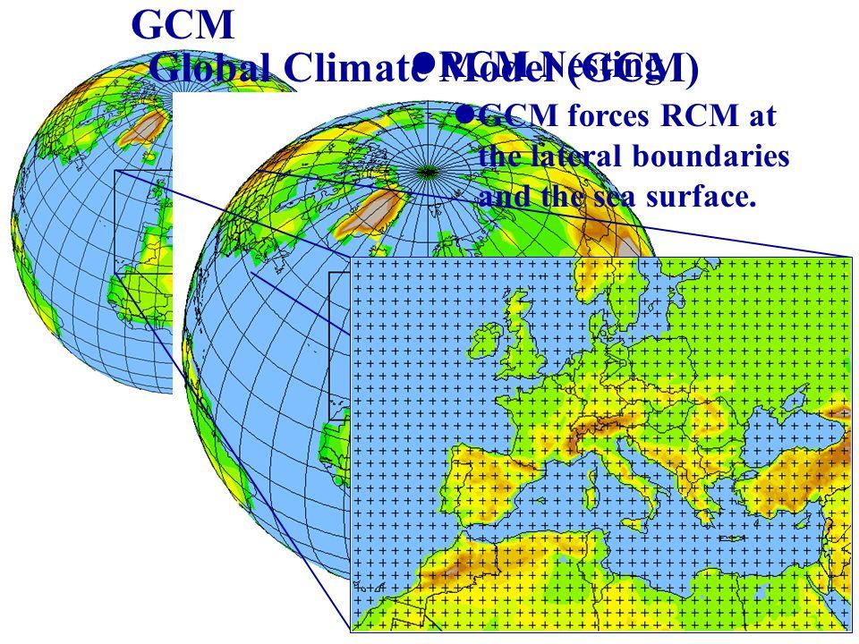 Global Climate Model (GCM)