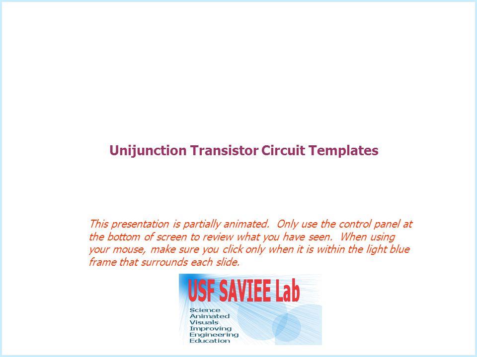 Unijunction Transistor Circuit Templates