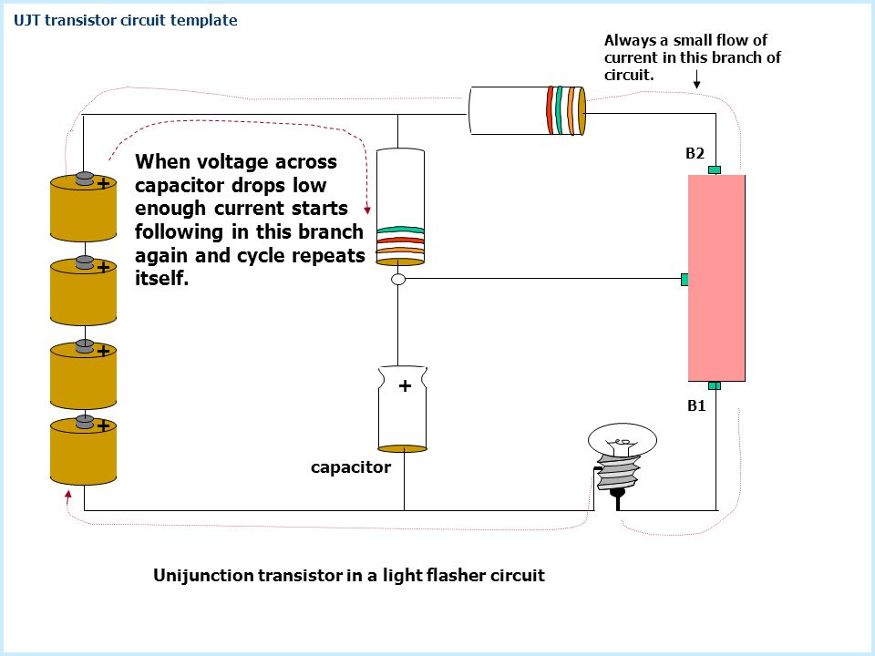 Voltage across capacitor drops as capacitor current discharges n +