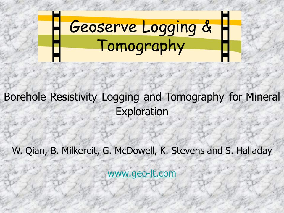 Geoserve Logging & Tomography