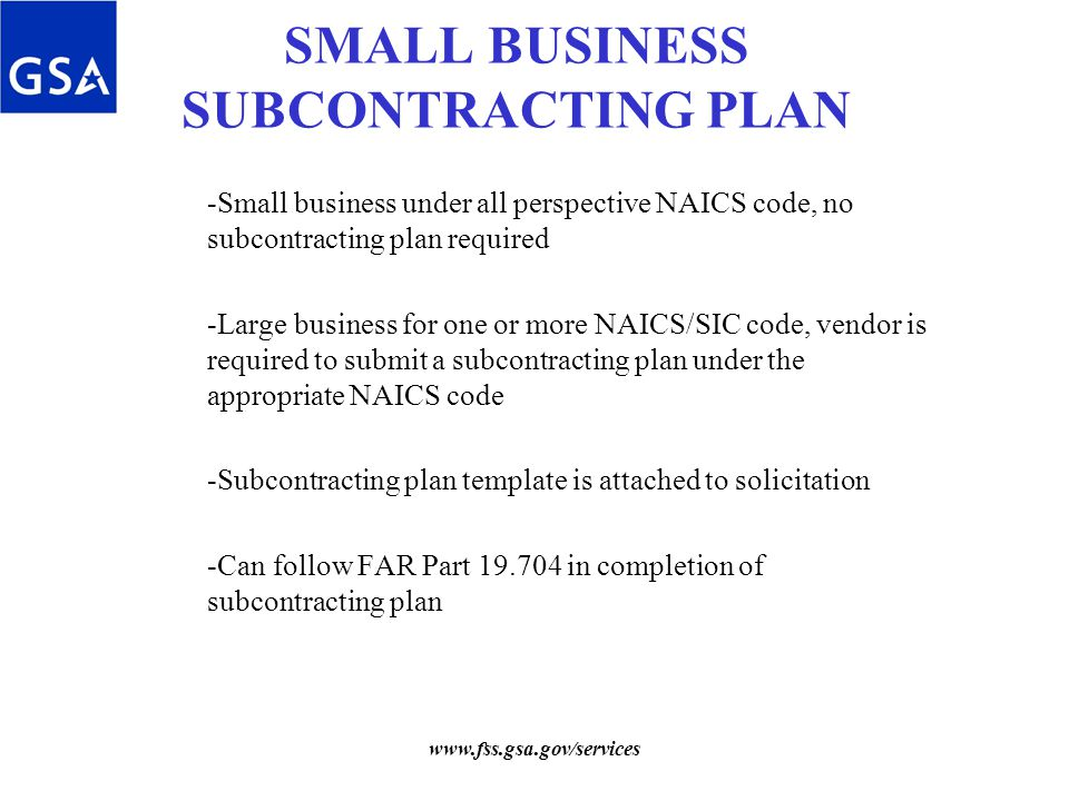 Small business plans submitted below required