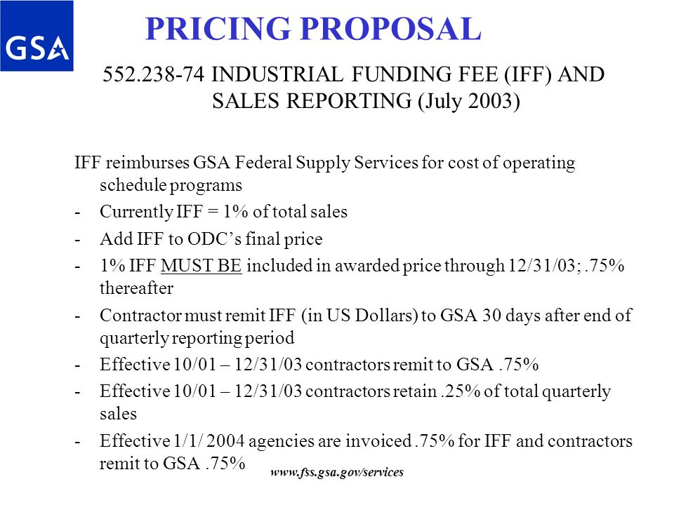 Smallness Subcontracting Plan Proposal Gsa Schedule Waiver 3 Price