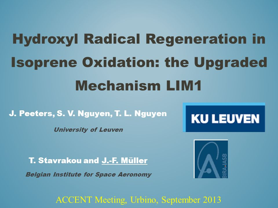 Hydroxyl Radical Regeneration in Isoprene Oxidation: the Upgraded Mechanism LIM1