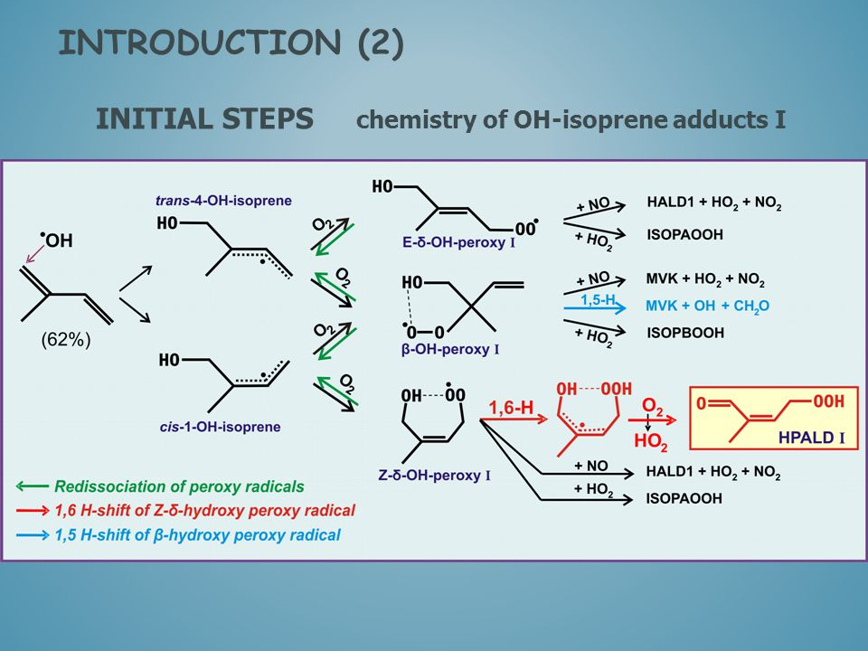 INITIAL STEPS chemistry of OH-isoprene adducts I