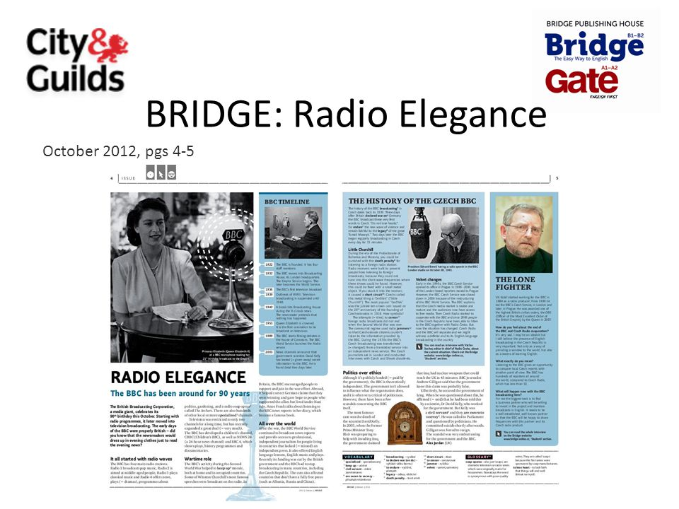 BRIDGE: Radio Elegance