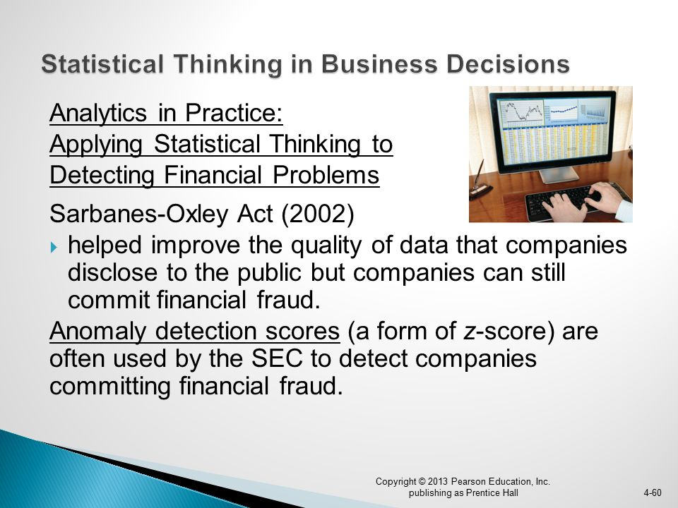 Statistical Thinking in Business Decisions