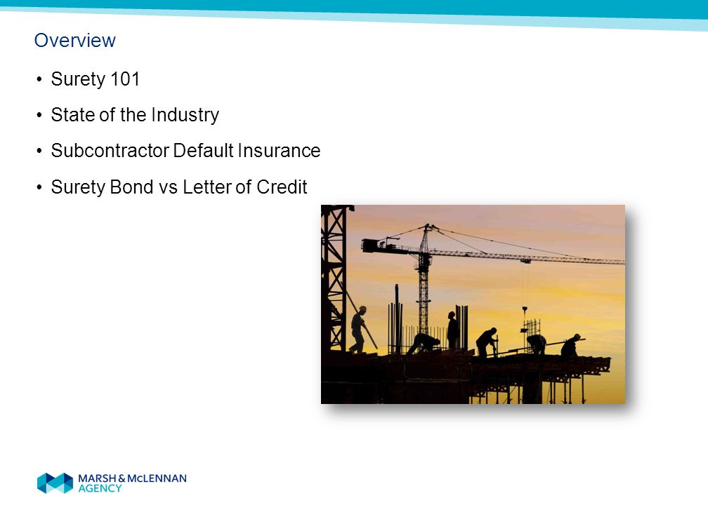 Surety Bonds 101 The Basics of Bonding Surety Bonds 101