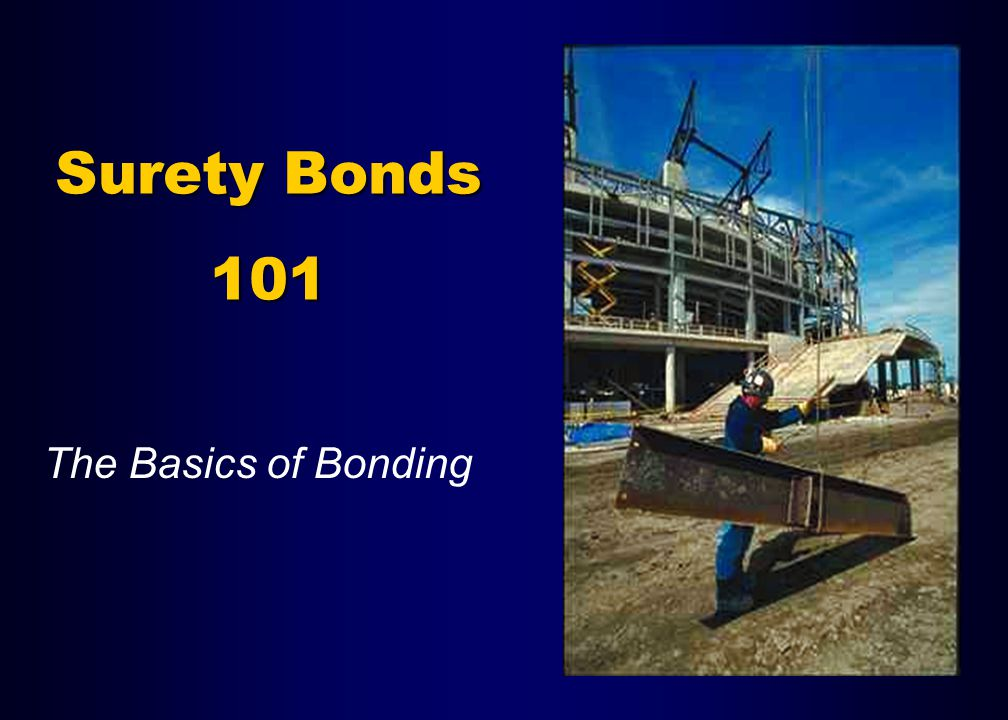 What is Surety Bonding Principal Obligee Surety