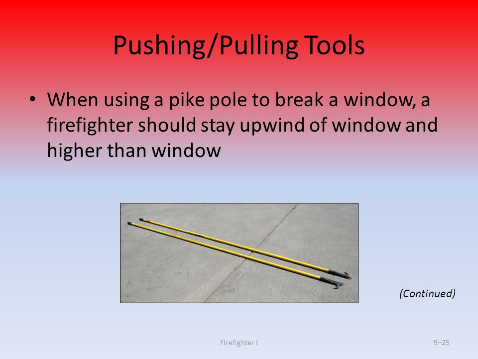 Pushing/Pulling Tools